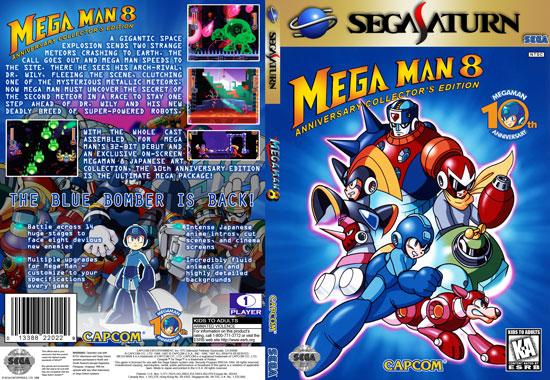 Mega Man 8 Slim DVD Insert