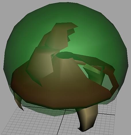 Metroid model back