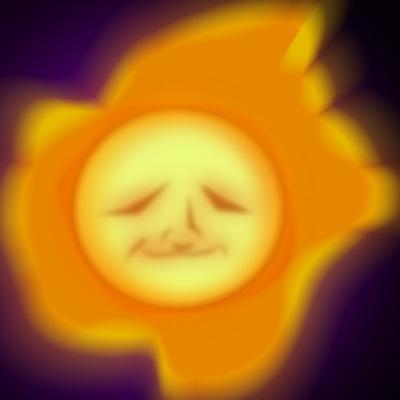 Look at the sun! It's beautiful! D'awwww!!!