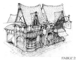 Fable II artwork