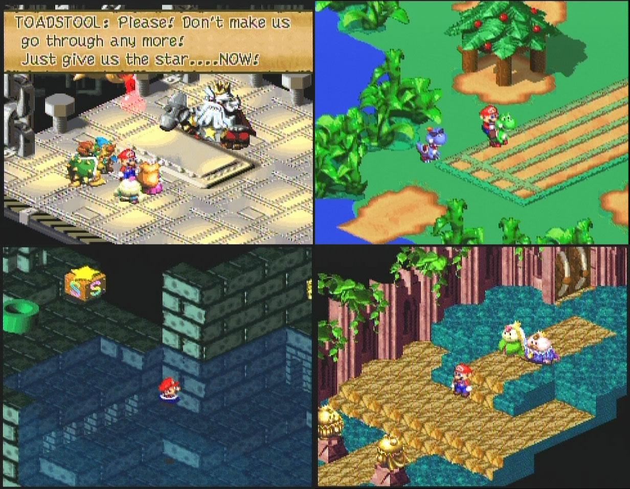 Spaghetti Oh dot com » Review: Super Mario RPG: Legend of