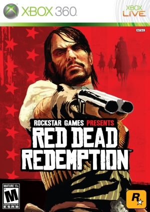 Red Dead Redemption Xbox 360 cover
