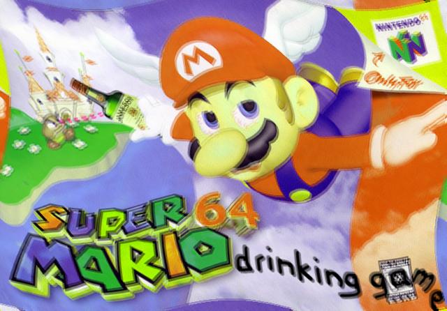 Mario 64 drinking game