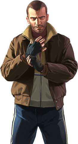 Grand Theft Auto IV's Niko Bellic