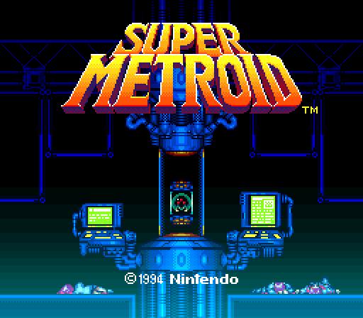 Super Metroid opening